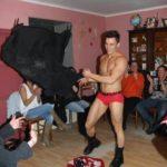 Stripteaseur Haguenau anniversaire Dylan