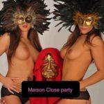 Maison Close party
