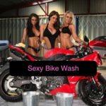 sexy bike wash