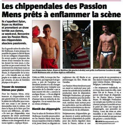 chippendales mulhouse alsace passion-mens