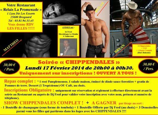 chippendales passion mens 25600 brognard doubs franche-comte