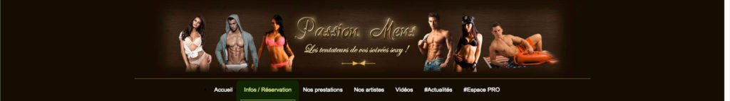 Guide réservation striptease Passion Mens