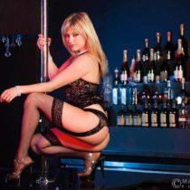 Stripteaseuse Chloé Aubagne