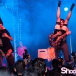 show stripteaseur au salon de l'érotisme en 2014