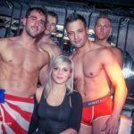 stripteaseur, gogo danseur et Chippendales à la discothèque le poisson rouge