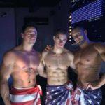 Chippendales Altkirch avec Matt, Bryan et Evan.