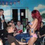 déroulement d'un striptease surprise