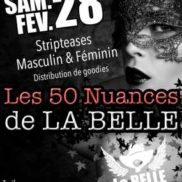 Striptease masculin féminin Mathay Doubs