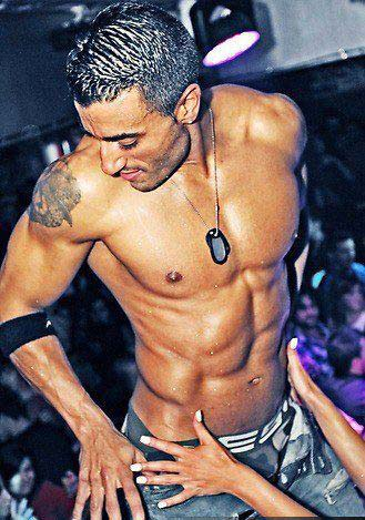 Stripteaseur Lyon à domicile Rhône Kenzo