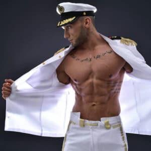 Stripteaseur Lyon Wael sexy