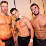Stripteaseurs Strasbourg avec Jay, Evan et Mathéo