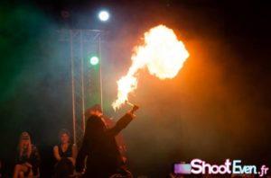 Gogo danseur Strasbourg cracheur de feu