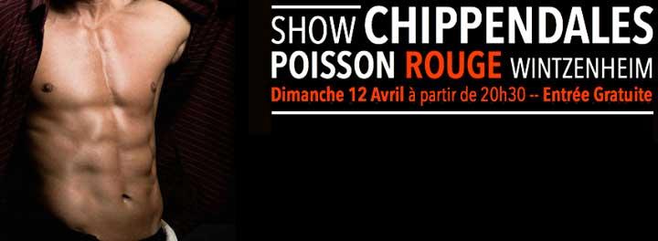 Show Chippendales Poisson Rouge Wintzenheim Colmar Haut-Rhin Alsace