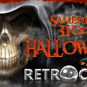 Gogo Performer Halloween retro Club Strasbourg