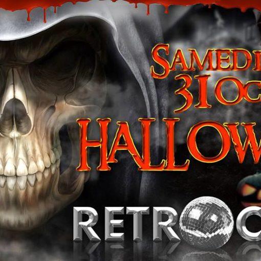 Gogo Performer Halloween retro Club Strasbourg