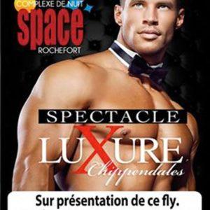 Chippendales discothèque le Space 39 Rochefort-sur-Nenon ( Jura )