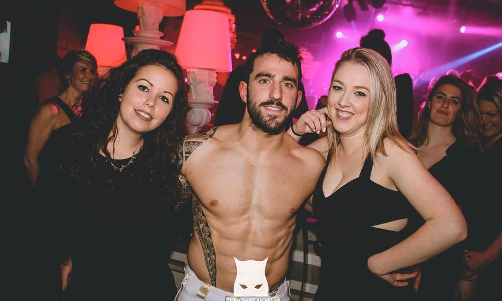 Stripteaseur Strasbourg Mathéo Chippendales
