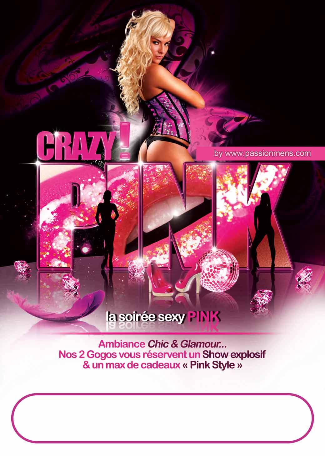 Affiche Crazy Pink