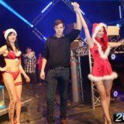 Gogo danseuses Mère Noël