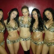 Gogo danseuses tribal Party