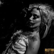 Halloween mariée vampire