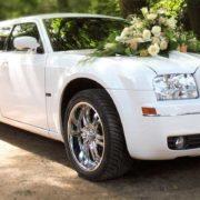 Limousine pour un mariage