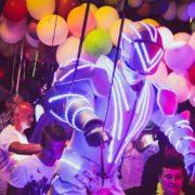 Performer robot LED 03