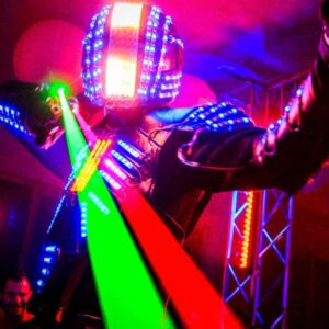 Robot LED performer