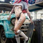 Sexy Car Wash avec Mia