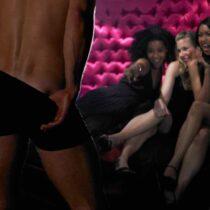 Stripteaseur enterrement de vie de jeune fille