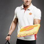 Stripteaseur en livreur de Pizza