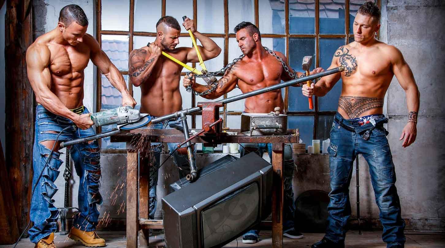 Stripteaseurs France - Chippendales Passion Mens