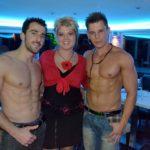 Stripteaseurs Mathéo et Dylan