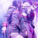 Striptease lesbien Manon et Lilou