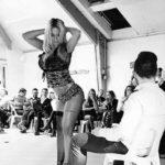 Gogo danseuse Pot de départ Le Havre
