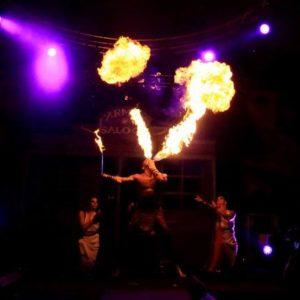 Performer feu Nantes