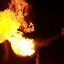 Cracheur de feu Bordeaux Gironde
