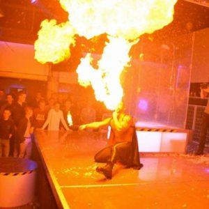 Cracheur de feu Bruxelles Eros