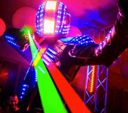Robot Led Lyon Rhône