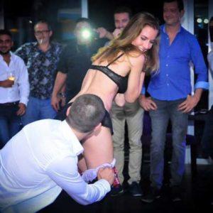Stripteaseuse anniversaire Antibes