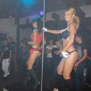 Stripteaseuses discothèque Belgique