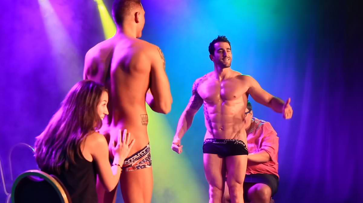 Tyler Mathéo Chippendales Passion Mens