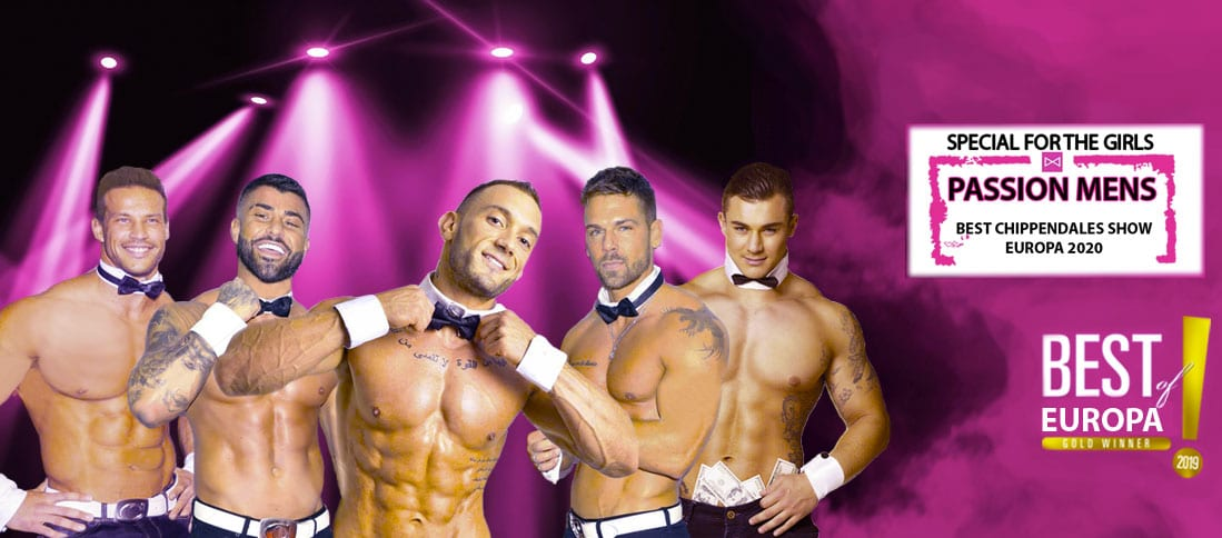 Chippendales Show Passion Mens