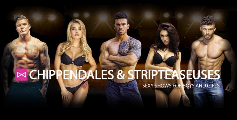Passion Mens Spectacles Chippendales Striptease Feminin Et Masculin